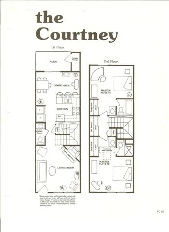 Floor Plans Town Country Village Hoa